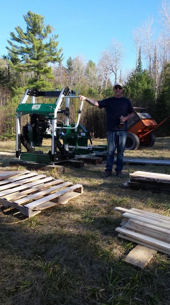 Portable Sawmill Reviews | Woodland Mills UK